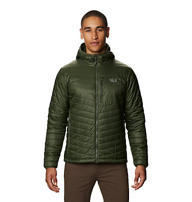 Men's Derra Hooded Jacket Derra Hooded Jacket M | 347 | L, Surplus Green, front