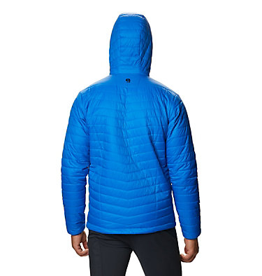 Men's Derra Hooded Jacket Derra Hooded Jacket M | 347 | L, Altitude Blue, back