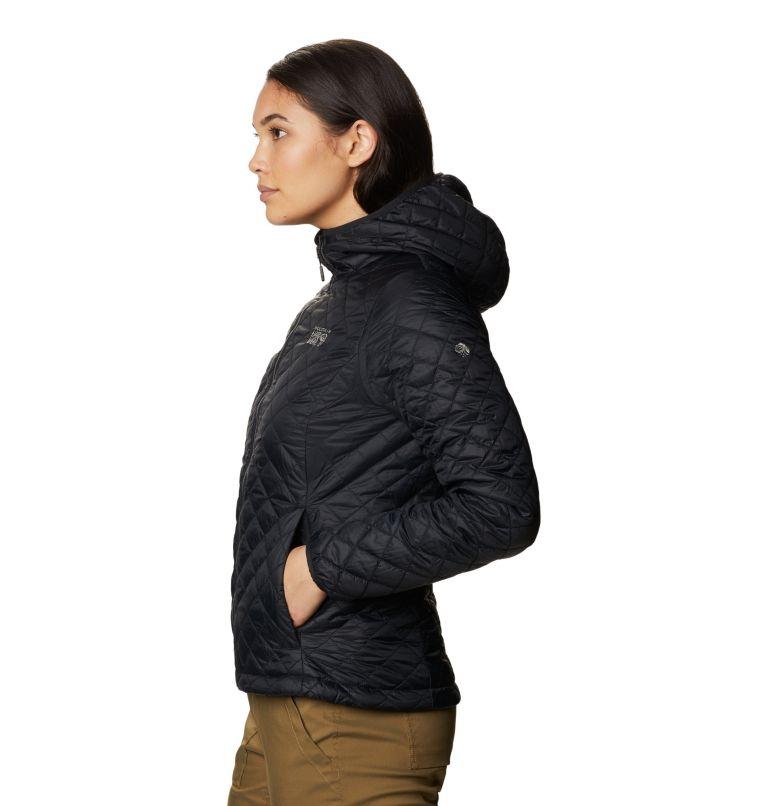 Derra Hooded Jacket W | 010 | L Women's Derra Hooded Jacket, Black, a1