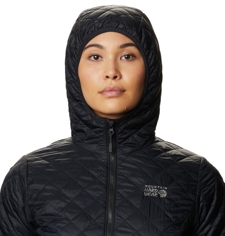 Derra Hooded Jacket W | 010 | L Women's Derra Hooded Jacket, Black, a2