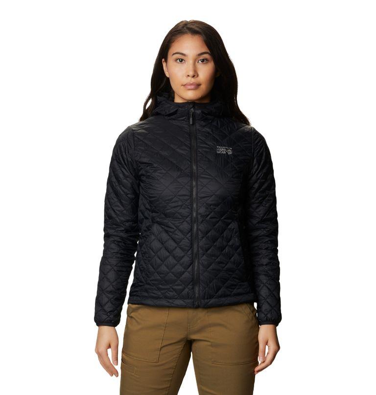 Derra Hooded Jacket W | 010 | L Women's Derra Hooded Jacket, Black, front