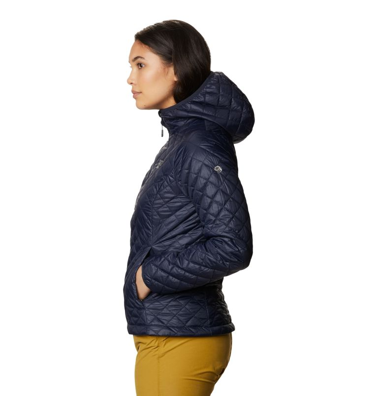 Derra Hooded Jacket W | 406 | M Women's Derra Hooded Jacket, Dark Zinc, a1