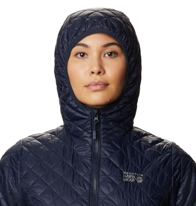 Derra Hooded Jacket W | 406 | S Women's Derra Hooded Jacket, Dark Zinc, a2