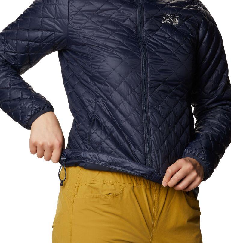 Derra Hooded Jacket W | 406 | S Women's Derra Hooded Jacket, Dark Zinc, a5
