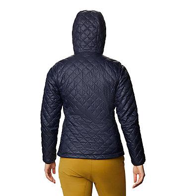 Women's Derra Hooded Jacket Derra Hooded Jacket W | 406 | L, Dark Zinc, back