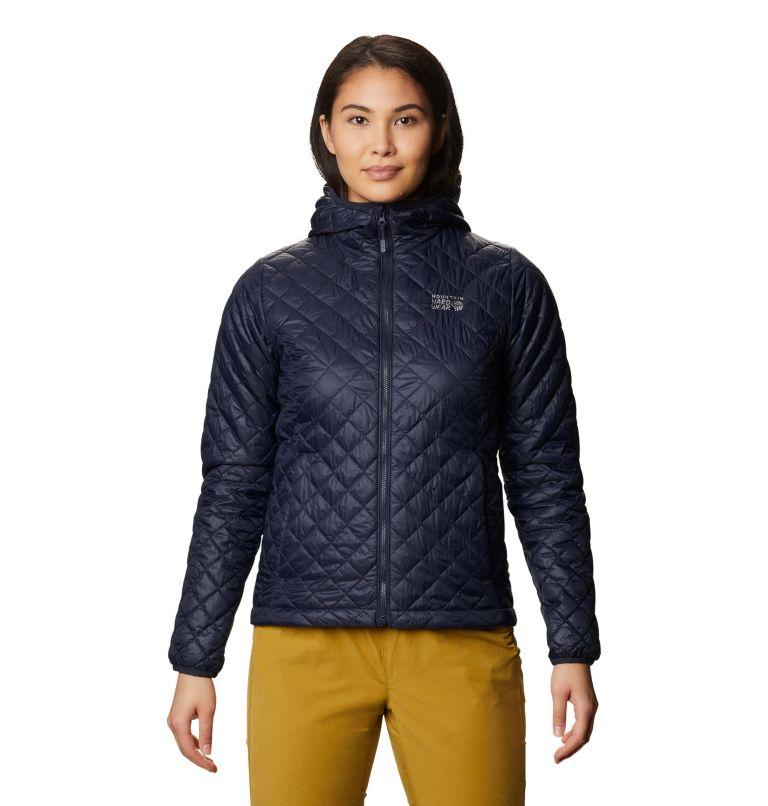 Derra Hooded Jacket W | 406 | S Women's Derra Hooded Jacket, Dark Zinc, front