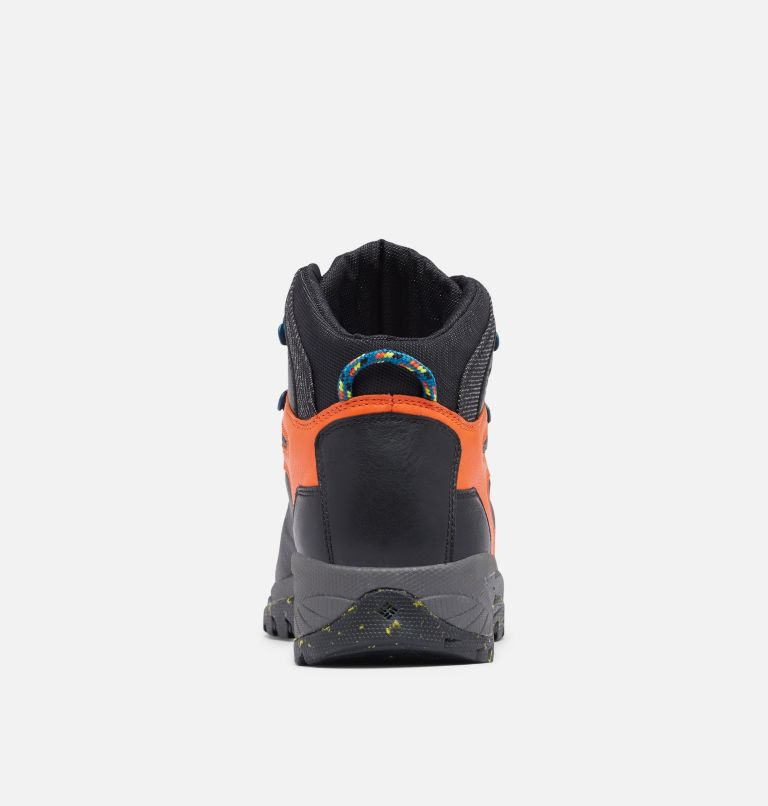 NEWTON RIDGE™ LUXE | 010 | 7 Men's Newton Ridge™ Luxe Hiking Boot - Limited Edition, Black, Tangy Orange, back