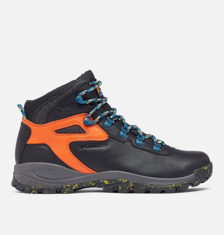 NEWTON RIDGE™ LUXE | 010 | 14 Men's Newton Ridge™ Luxe Hiking Boot - Limited Edition, Black, Tangy Orange, front