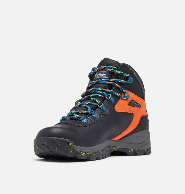 NEWTON RIDGE™ LUXE | 010 | 7 Men's Newton Ridge™ Luxe Hiking Boot - Limited Edition, Black, Tangy Orange