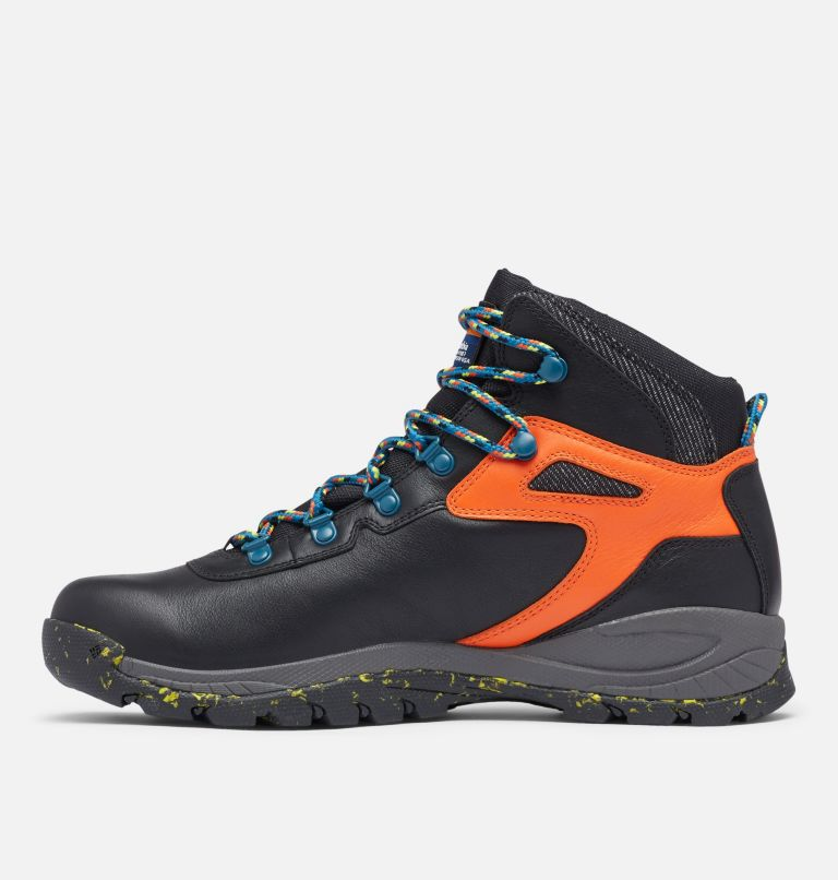 NEWTON RIDGE™ LUXE | 010 | 14 Men's Newton Ridge™ Luxe Hiking Boot - Limited Edition, Black, Tangy Orange, medial