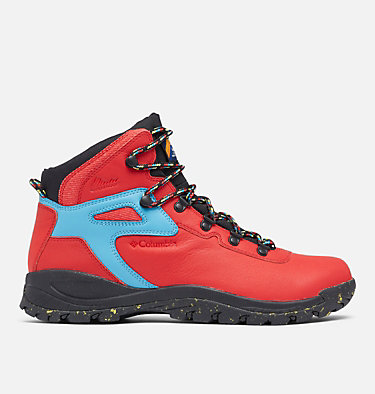 Men's Newton Ridge™ Luxe Hiking Boot - Limited Edition NEWTON RIDGE™ LUXE | 691 | 10, Bright Red, Black, front