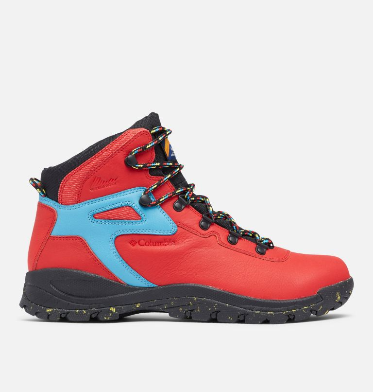 NEWTON RIDGE™ LUXE | 691 | 8 Men's Newton Ridge™ Luxe Hiking Boot - Limited Edition, Bright Red, Black, front