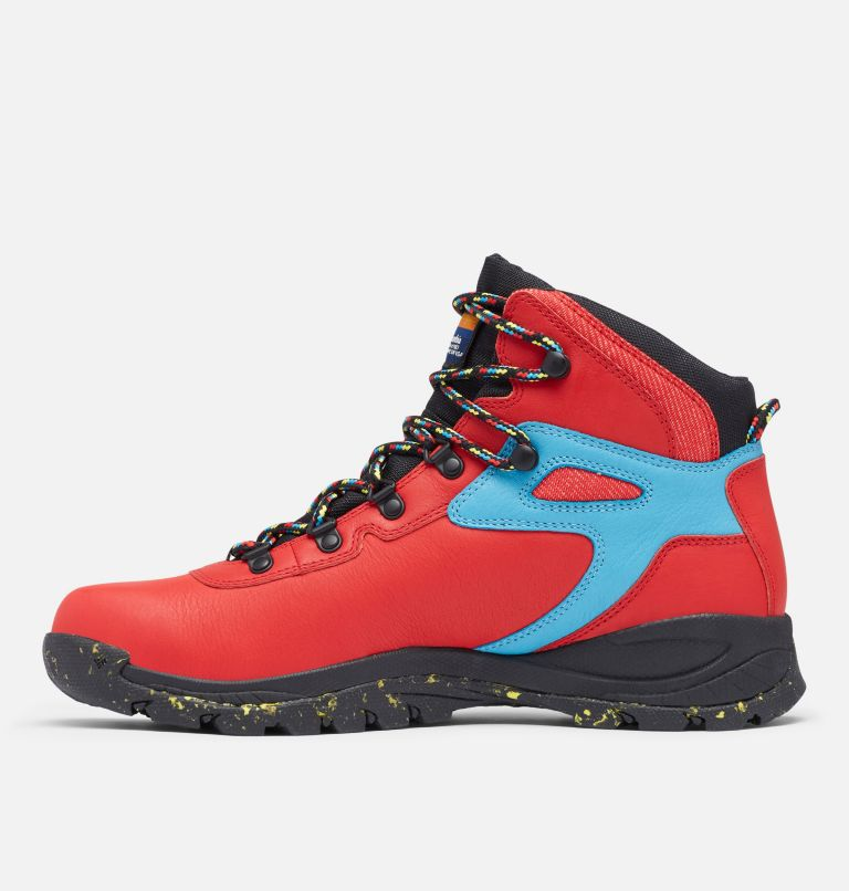 NEWTON RIDGE™ LUXE | 691 | 8 Men's Newton Ridge™ Luxe Hiking Boot - Limited Edition, Bright Red, Black, medial