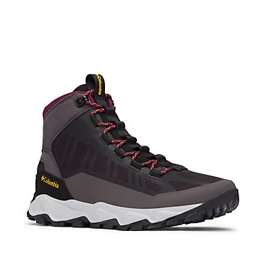 Men's Flow Borough Mid Shoe FLOW™ BOROUGH MID | 010 | 10, Dark Grey, Bright Gold, 3/4 front