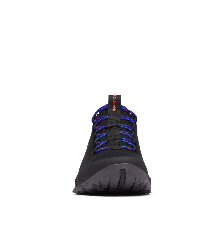 FLOW™ BOROUGH LOW | 010 | 11.5 Men's Flow™ Borough Low Shoe, Black, Tangy Orange, toe