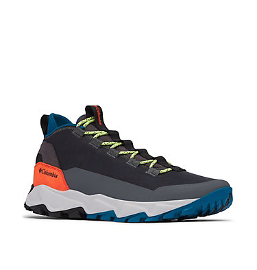 Men's Flow Borough Low Shoe FLOW™ BOROUGH LOW | 010 | 10.5, Graphite, Lagoon, 3/4 front