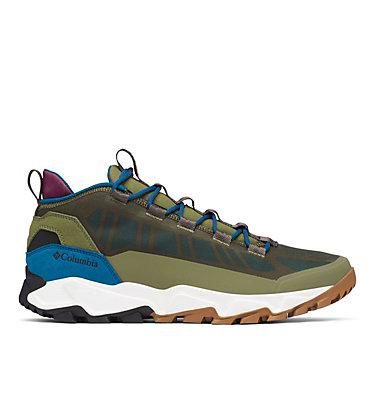 Men's Flow Borough Low Shoe FLOW™ BOROUGH LOW | 010 | 10, Hiker Green, Lagoon, front