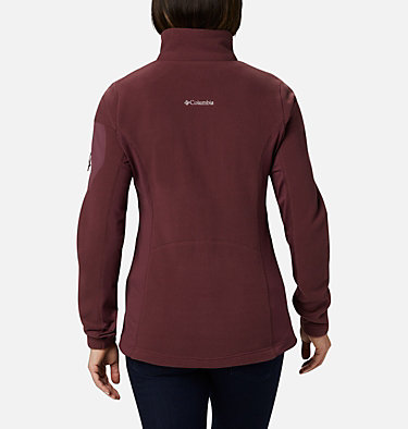 Women's Polar Powder™ Full Zip Fleece Jacket W Polar Powder™ Fleece FZ | 100 | L, Malbec, back