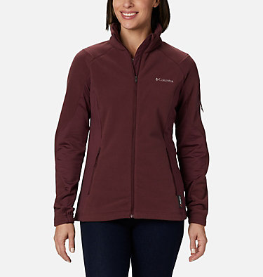 Manteau en laine polaire à fermeture éclair Polar Powder™ pour femme W Polar Powder™ Fleece FZ | 100 | L, Malbec, front