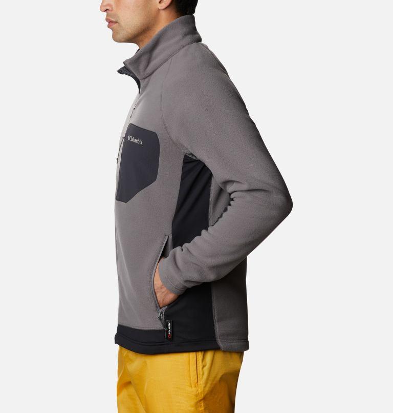 M Polar Powder™ Full Zip | 023 | XXL Pile Polar Powder da uomo , City Grey, Black, a1