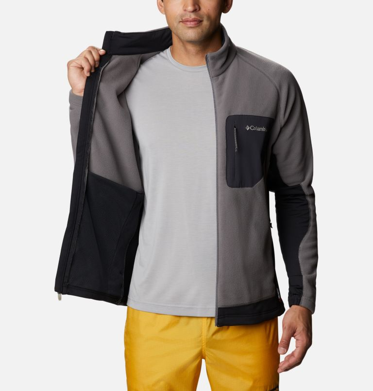 M Polar Powder™ Full Zip | 023 | XXL Pile Polar Powder da uomo , City Grey, Black, a3