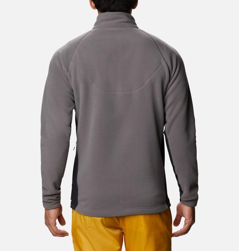 M Polar Powder™ Full Zip | 023 | S Pile Polar Powder da uomo , City Grey, Black, back