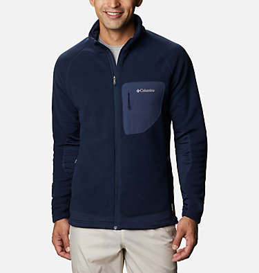 Men's Polar Powder Fleece  M Polar Powder™ Full Zip | 464 | XL, Collegiate Navy, front