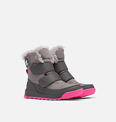 Kids' Whitney™ II Strap Boot CHILDRENS WHITNEY™ II STRAP | 010 | 10, Quarry, 3/4 front
