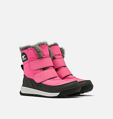 Childrens Whitney™ II Strap Boot CHILDRENS WHITNEY™ II STRAP | 010 | 10, Tropic Pink, 3/4 front