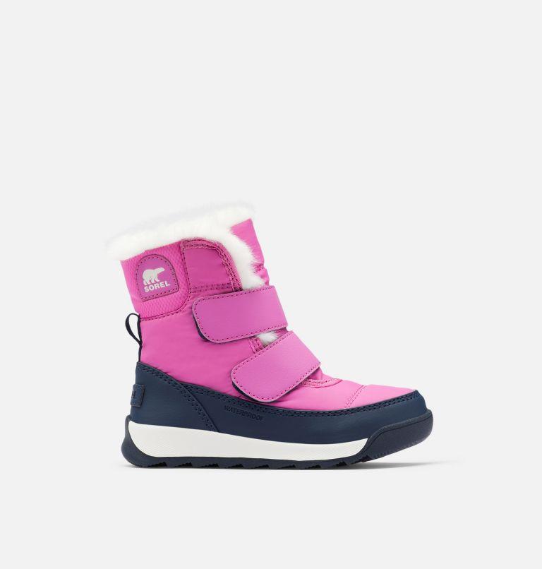 TODDLER WHITNEY™ II STRAP WP | 547 | 5 Toddler Whitney™ II Strap Boot, Bright Lavender, Collegiate Navy, front