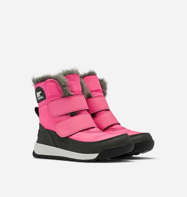 TODDLER WHITNEY™ II STRAP | 652 | 5 Toddler Whitney™ II Strap Boot, Tropic Pink, 3/4 front