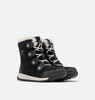 Youth Whitney™ II Suede Boot YOUTH WHITNEY™ II SUEDE | 286 | 1, Black, 3/4 front