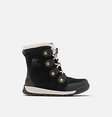 Youth Whitney™ II Suede Boot YOUTH WHITNEY™ II SUEDE | 286 | 1, Black, front