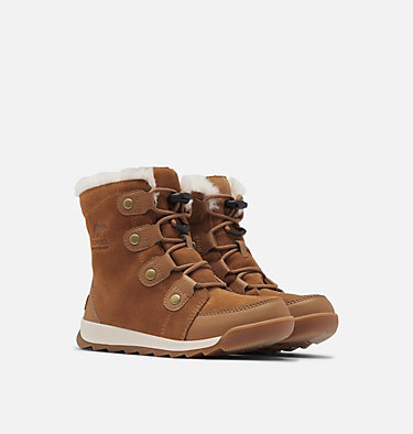 Youth Whitney™ II Suede Boot YOUTH WHITNEY™ II SUEDE | 286 | 1, Elk, 3/4 front
