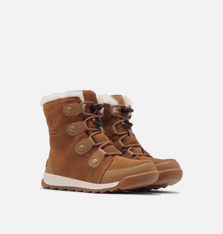 YOUTH WHITNEY™ II SUEDE | 286 | 2 Youth Whitney™ II Suede Boot, Elk, 3/4 front