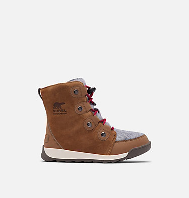 Childrens Whitney™ II Suede Boot CHILDRENS WHITNEY™ II SUEDE | 286 | 10, Brown Flora, front