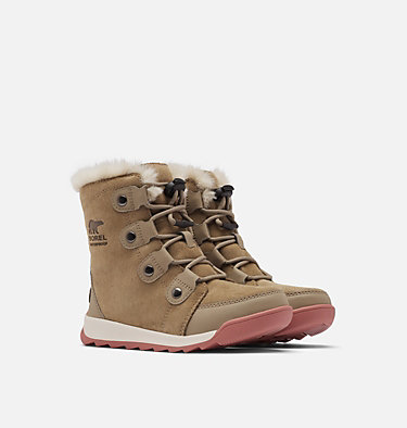 Kids' Whitney™ II Suede Boot CHILDRENS WHITNEY™ II SUEDE | 286 | 10, Khaki II, 3/4 front