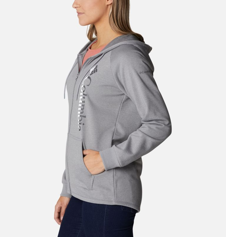 Women's Columbia™ Logo French Terry Full Zip Hoodie Women's Columbia™ Logo French Terry Full Zip Hoodie, a1