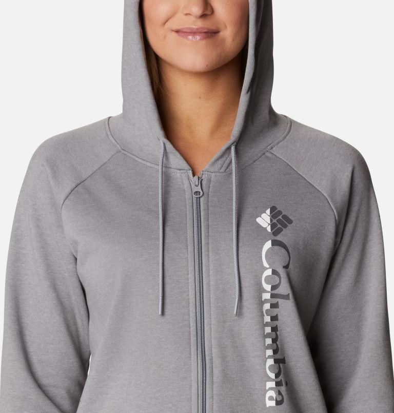 Women's Columbia™ Logo French Terry Full Zip Hoodie Women's Columbia™ Logo French Terry Full Zip Hoodie, a2