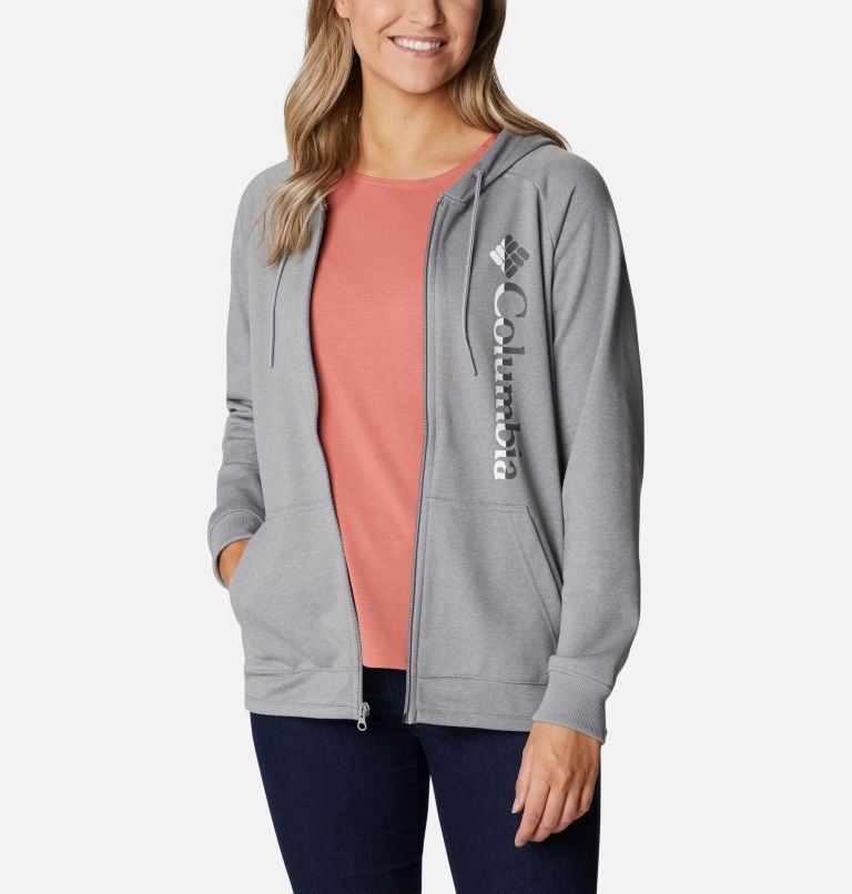 Women's Columbia™ Logo French Terry Full Zip Hoodie Women's Columbia™ Logo French Terry Full Zip Hoodie, a3