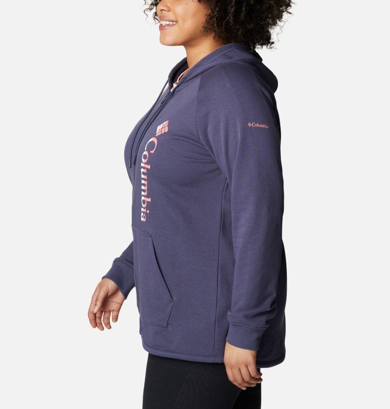 Women's Columbia™ Logo French Terry Full Zip Hoodie - Plus Size Women's Columbia™ Logo French Terry Full Zip Hoodie - Plus Size, a1