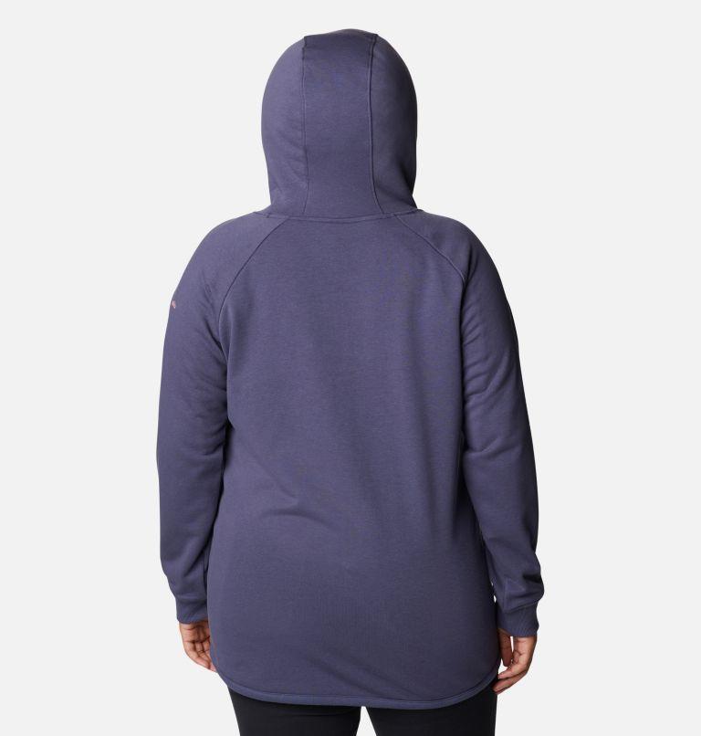 Women's Columbia™ Logo French Terry Full Zip Hoodie - Plus Size Women's Columbia™ Logo French Terry Full Zip Hoodie - Plus Size, back