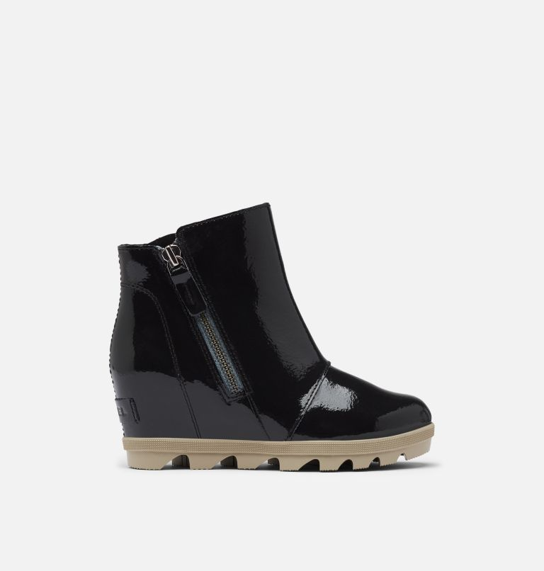 YOUTH JOAN OF ARCTIC™ WEDGE II ZIP | 010 | 3 Youth Joan Of Arctic™ Wedge II Zip Bootie, Black, front