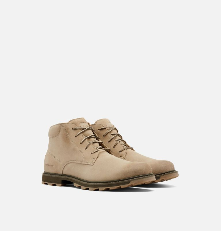 MADSON™ II CHUKKA WP | 251 | 9 Men's Madson™ II Chukka Waterproof Boot, Sandy Tan, 3/4 front
