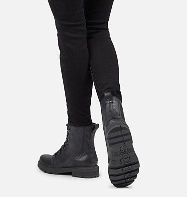 Women's Lennox™ Lace Boot LENNOX™ LACE | 242 | 10, Black, video