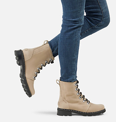 Women's Lennox™ Lace Boot LENNOX™ LACE | 242 | 10, Sandy Tan, video