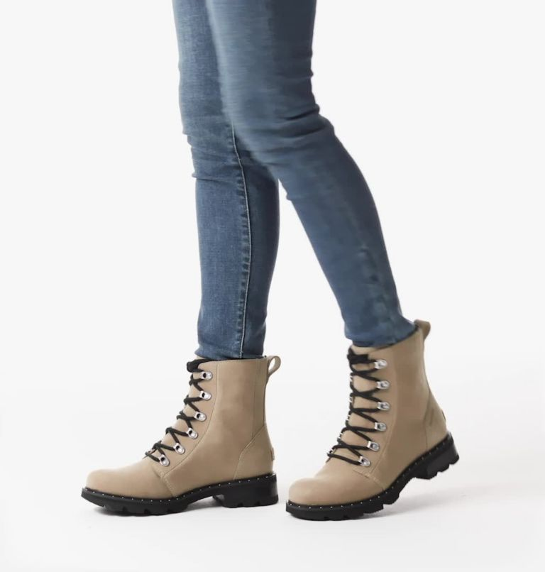 LENNOX™ LACE | 251 | 6 Women's Lennox™ Lace Boot, Sandy Tan, video