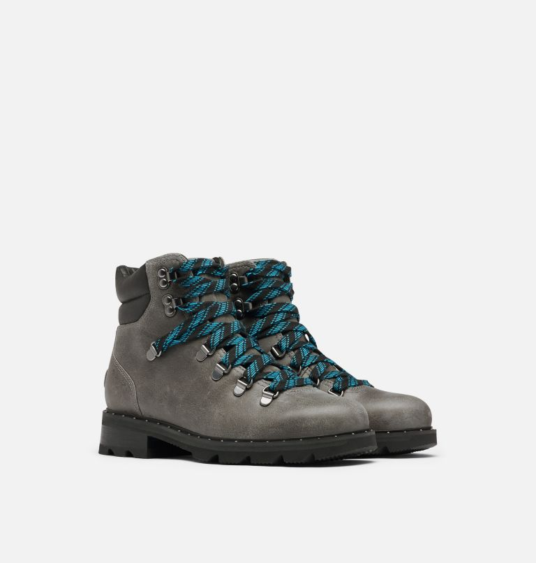 LENNOX™ HIKER | 052 | 6 Women's Lennox™ Hiker Bootie, Quarry, 3/4 front