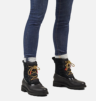 Women's Lennox™ Street Lace Boot LENNOX™ STREET LACE | 010 | 10, Black, video