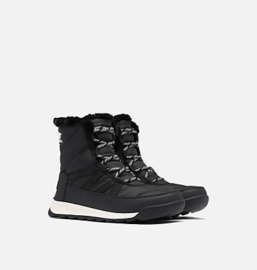 Bota Whitney™ II Short Lace para mujer WHITNEY™ II SHORT LACE | 326 | 10, Black, 3/4 front
